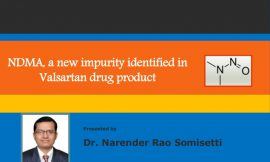 Update on EDQM's actions following detection of impurity in valsartan