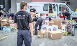 Vancouver firefighters spend big at local toy stores to offset coronavirus losses