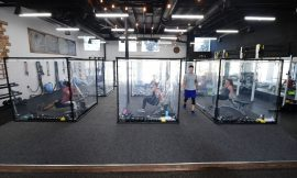 Curtain panes and gains: Gym unveils workout pods in California