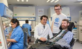Ground-breaking research to help find a cure for motor neurone disease