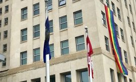 NDP flies its own rainbow flag after official Pride Month symbol taken down in 24 hours