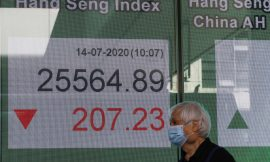 Asia shares drop on jitters over virus, China-U.S. friction