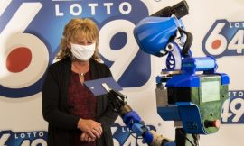 Physical distancing goes high-tech: Robot delivers $6-million cheque to Quebec lottery winner