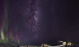 The best view of the stars from Earth is on a hill in Antarctica