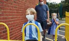 Covid-19 news: UK criticised for confusing school face covering rules