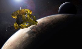 NASA spacecraft gets a look at one of the strangest places in the solar system