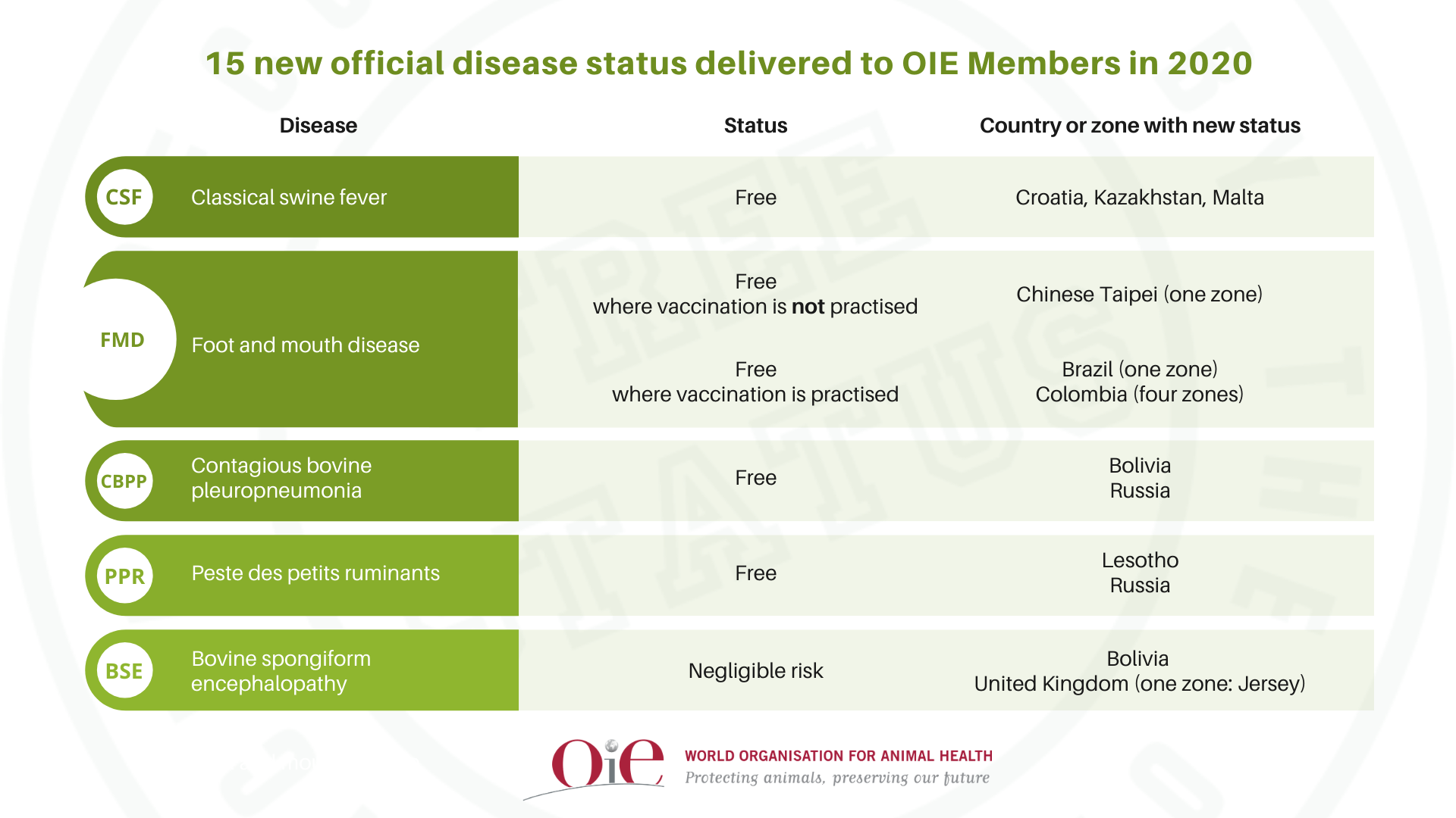 OIE endorsement of official control programmes for dog-mediated rabies