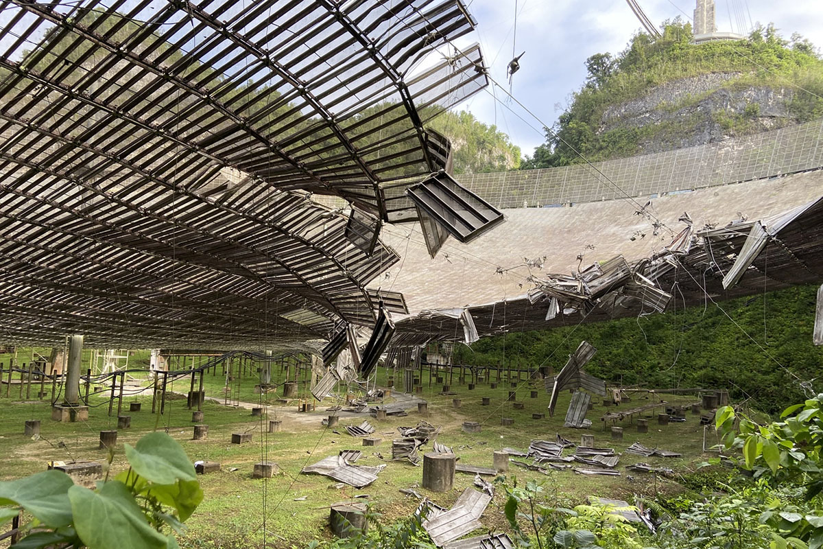 Astronomers are still reeling from the loss of iconic Arecibo radio telescope