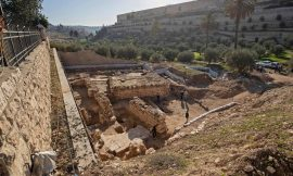 Ritual bath unearthed at site where Judas betrayed Jesus