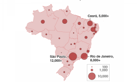 Brazil's COVID-19 crisis affecting nearby countries