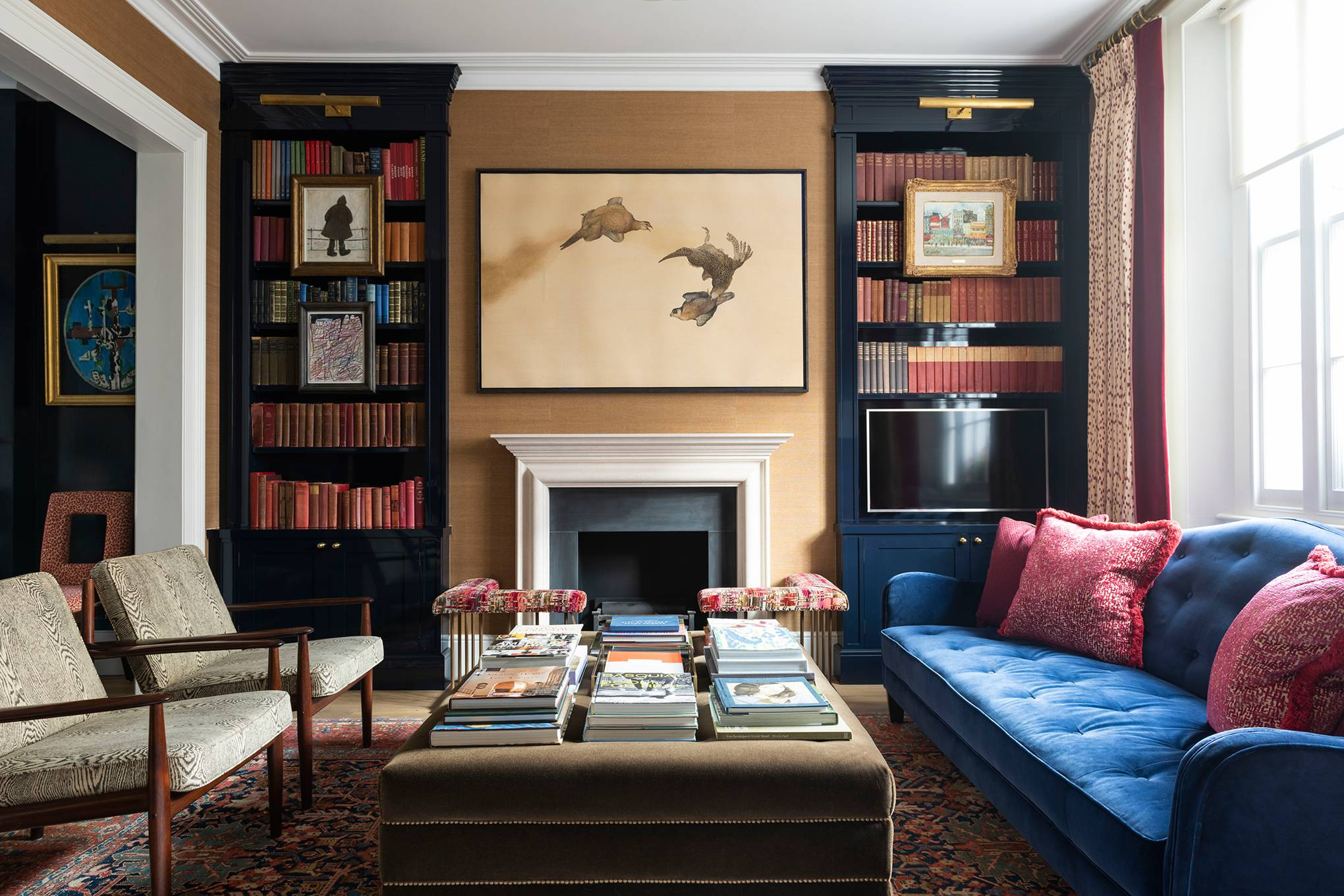 Images of decorated room are not the Downing Street refurbishment