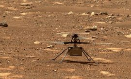 NASA's Ingenuity craft makes first ever helicopter flight on Mars