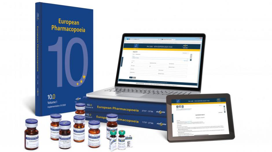 Subscriptions now open for the European Pharmacopoeia 10th Edition, Supplements 10.6-10.8