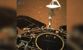 China unveils 1st Mars photos from Zhurong rover