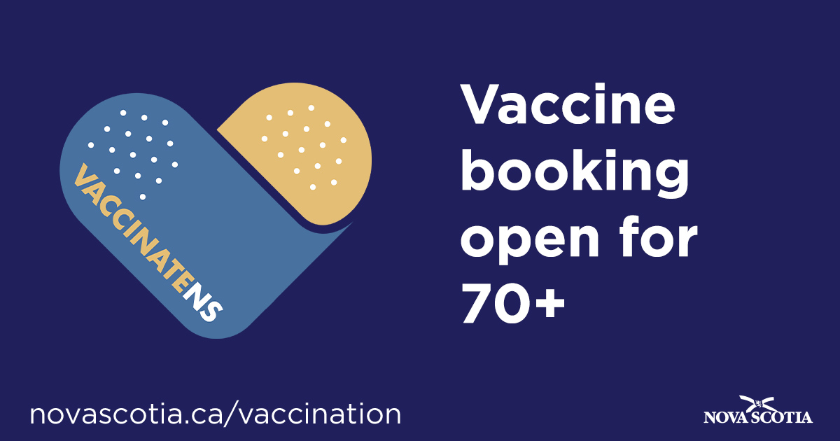 COVID-19: Nova Scotia opens vaccine eligibility for people aged 12 and up