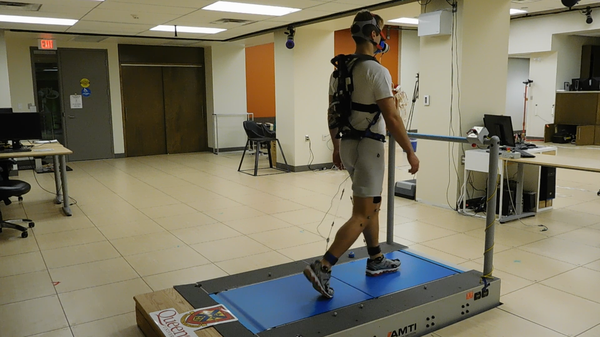 Queen's University researchers' device to make walking easier featured in journal 'Science'