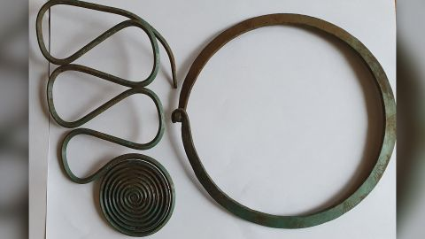 Stunning hoard of Bronze Age jewelry discovered by local hiker in Sweden