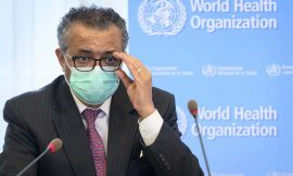 WHO boss wants 10 per cent of every country vaccinated by September