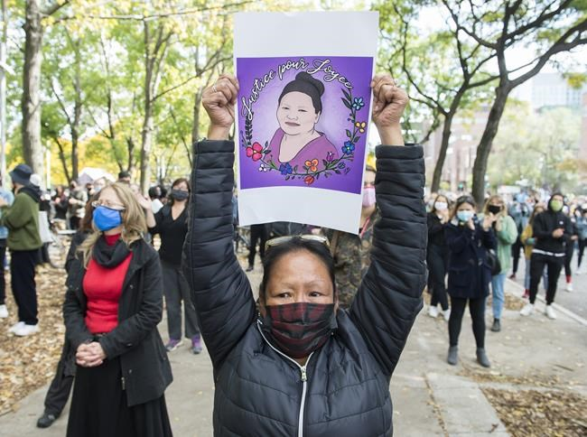 As Joyce Echaquan coroner's inquiry closes, community marches in her memory