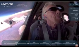 Virgin Galactic launches Richard Branson to space in 1st fully crewed flight of VSS Unity
