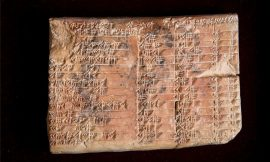Babylonians calculated with triangles centuries before Pythagoras