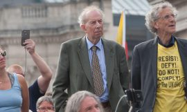 """Trafalgar Square """"Freedom Rally"""" speech littered with false claims"""